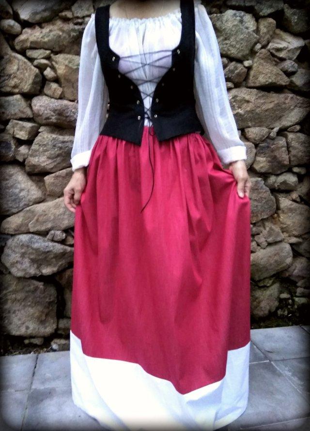 campesina-tabernera-medieval